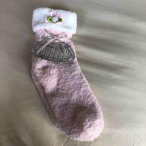 Cozy socks. So soft and comfortable